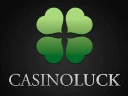 855% First deposit bonus at Casino Luck