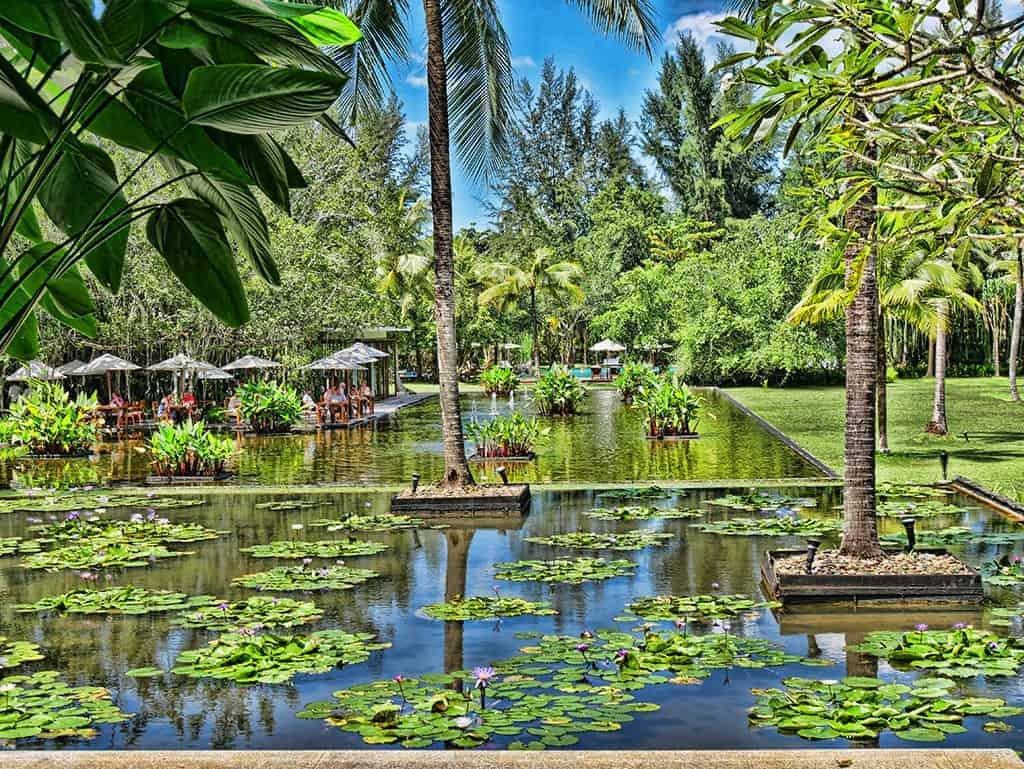 The Sarojin Khao Lak: Lush Lotus Ponds and White Sand Beaches