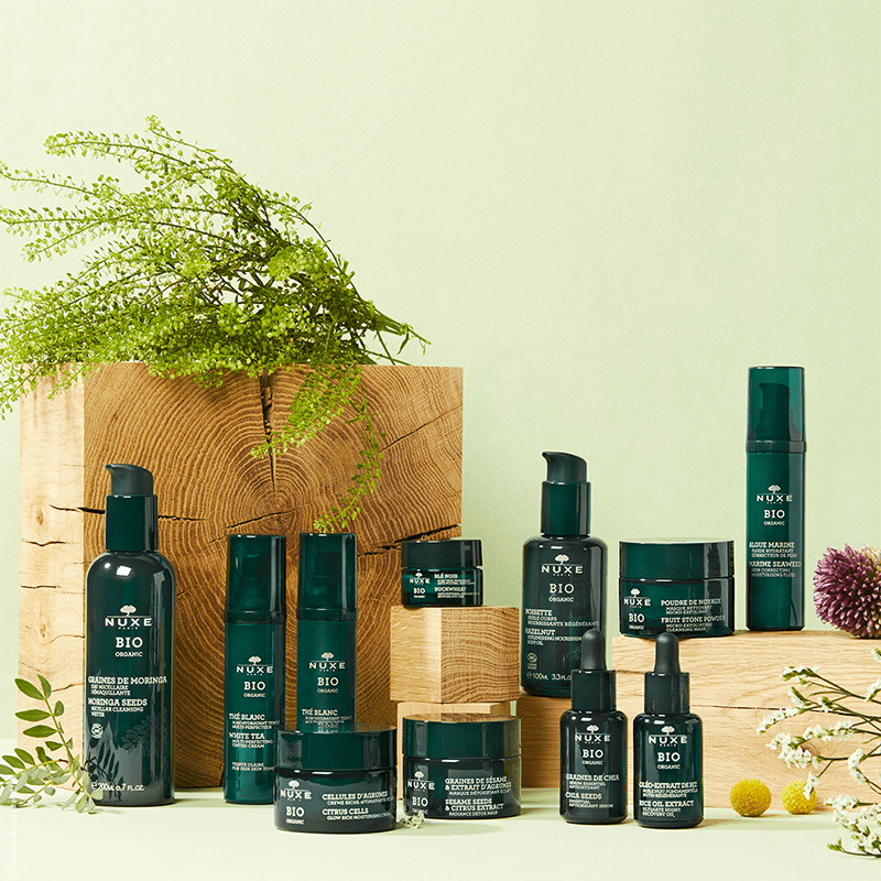 New NUXE Organic Skincare Collection