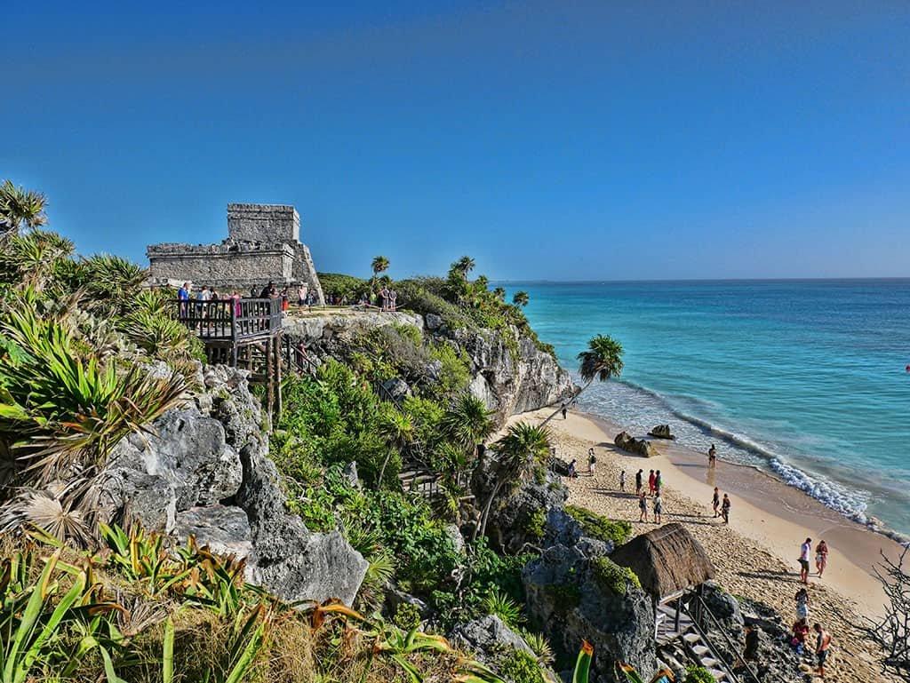 Tulum Street Art and Mayan Ruins