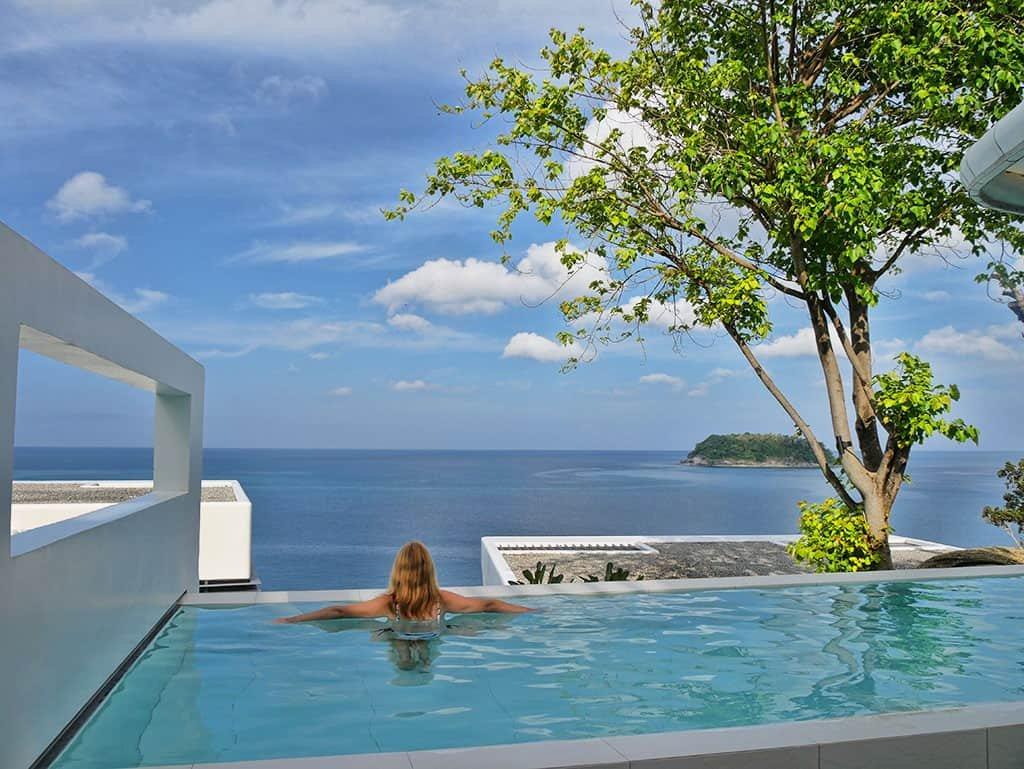 A Breathtaking Private Pool at Kata Rocks, Phuket