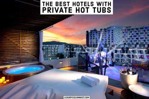 Hot Tub Room Hotels | 12 Best Hotels with Private Hot Tubs in Room