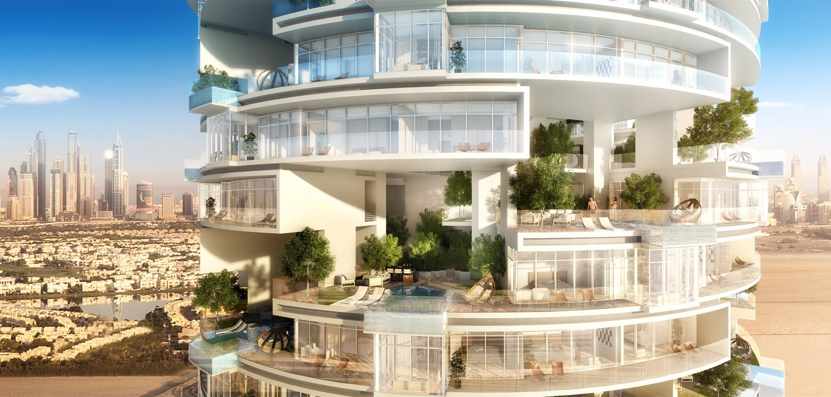 Dubai to welcome a new tower that will have an astounding 254 floating swimming pools