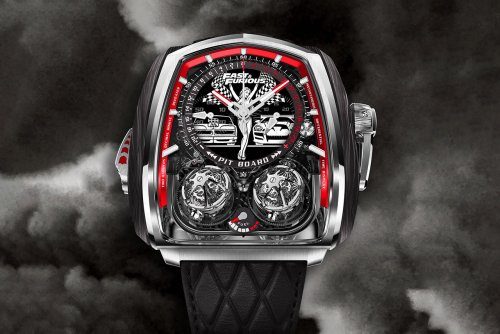 Jacob & Co. has released a $580,000 limited-edition timepiece to celebrate the 20th anniversary of the Fast & Furious franchise
