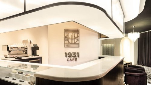 The 1931 pop-up cafe by Jaeger-LeCoultre celebrates 90 years of the iconic Reverso with Art Deco interiors and elegance in every nook