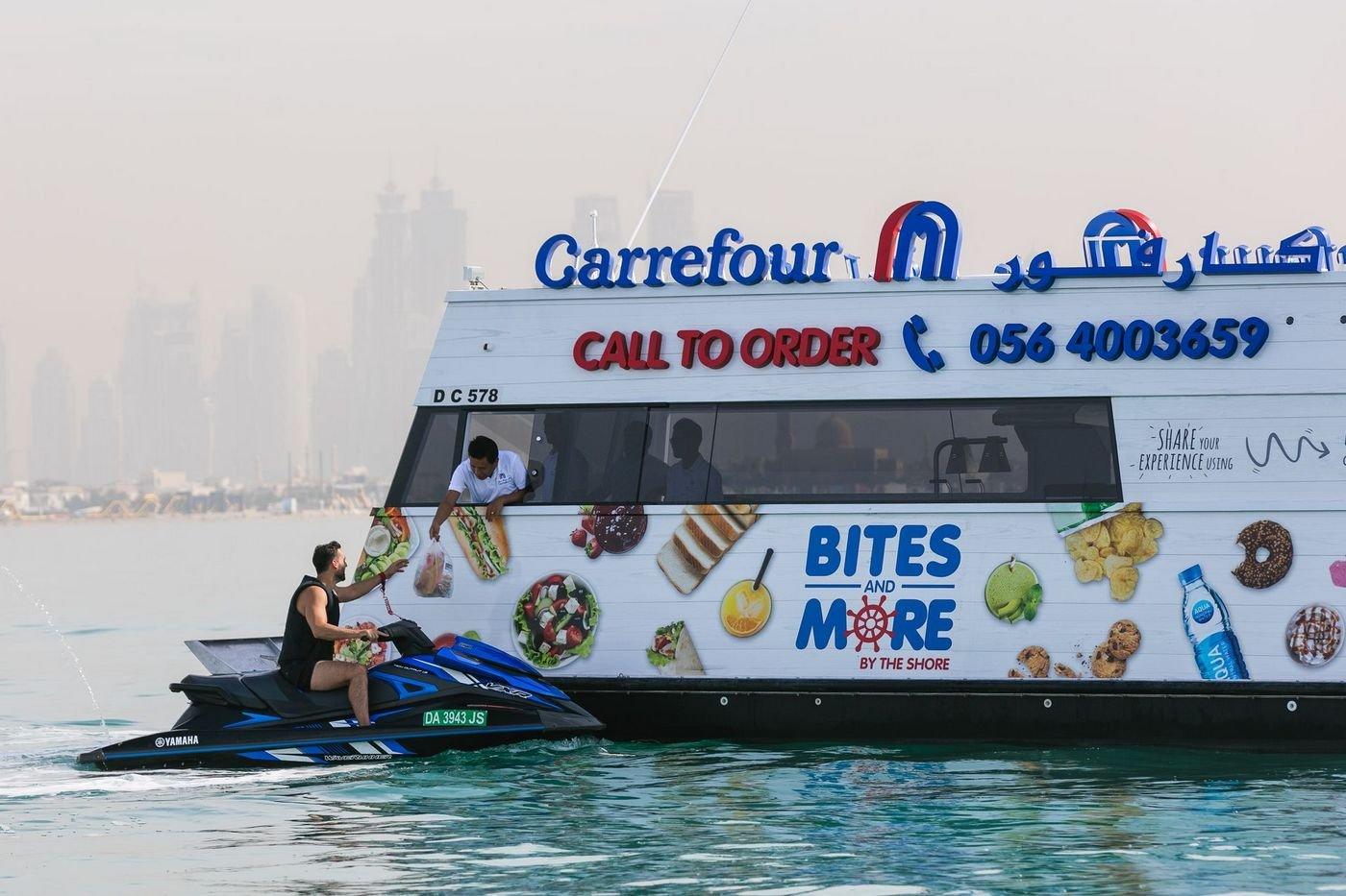 Dubai becomes first to open a sail-thru supermarket
