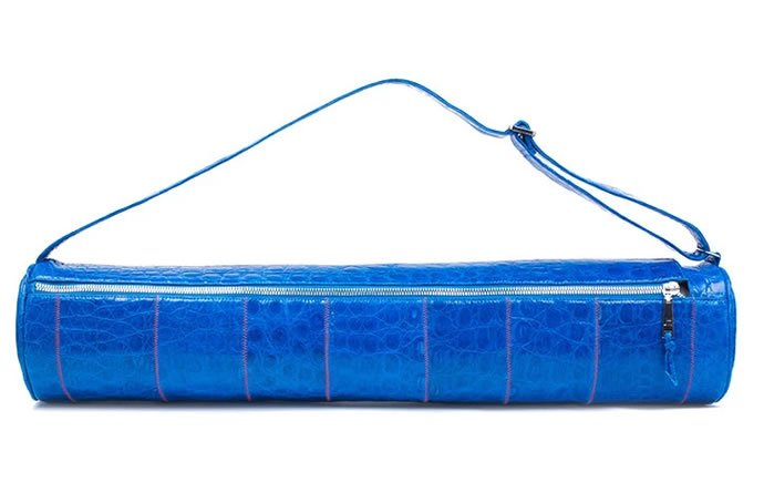 Jazz up your yoga sessions with the new $5,500 crocodile-skin, yoga mat case - Luxurylaunches