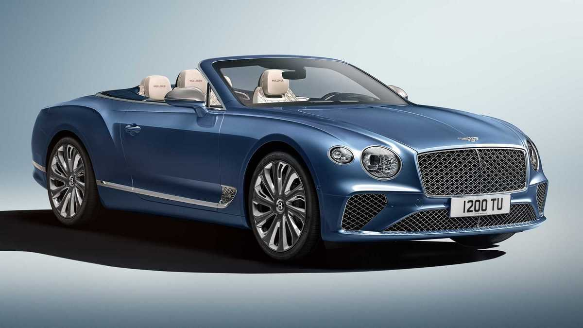 Bentley Continental GT Mulliner Convertible revealed with exclusive diamond-shaped touches all around
