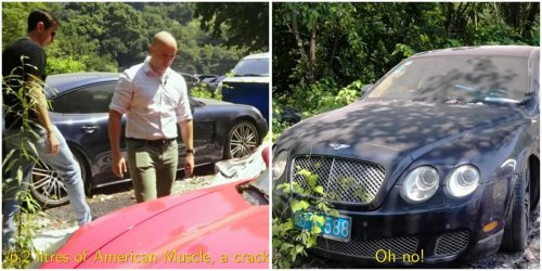 Video – Supercar graveyard in China – Bentleys, Porsches, and Aston Martins once confiscated now lie abandoned and are rotting away