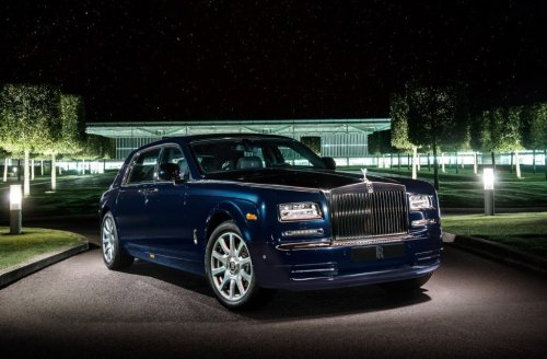 A Diamond-studded special edition Rolls Royce Phantom debuts at Dubai Motor Show : Luxurylaunches
