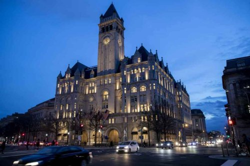 Once the crown of Washington DC, the bustling and over-booked $500 million Trump International Hotel is now eerily quiet and practically deserted – It took the full brunt of Donald Trump's election defeat