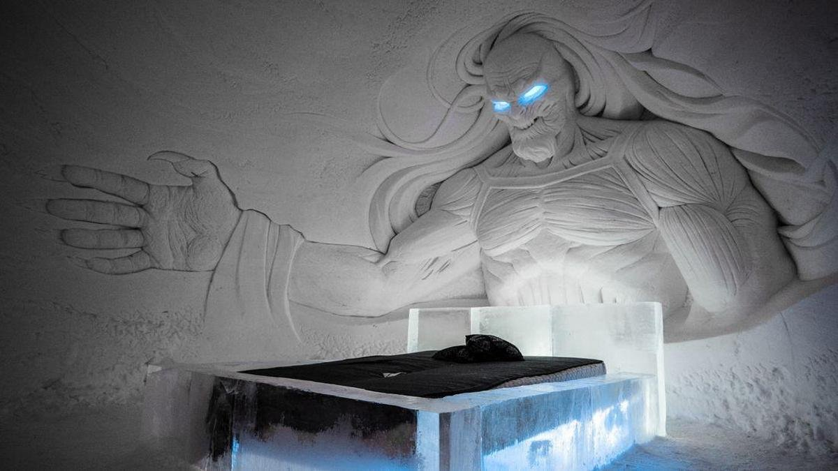 Pics: Take a look inside the world's first Game of Throne inspired Ice Hotel in Finland - Luxurylaunches