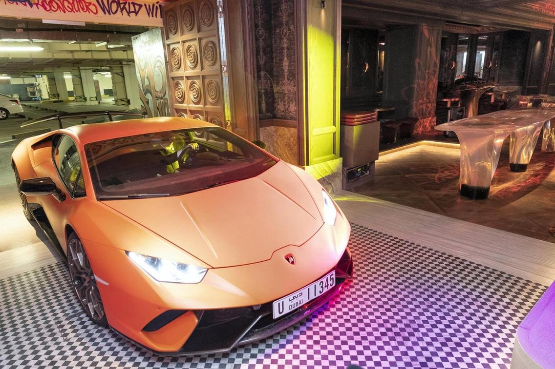 Only in Dubai – A secret nightclub where you can drive your supercar into