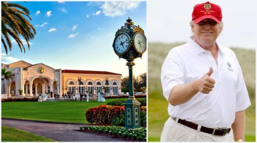To take full advantage of wealthy vaccinated seniors flocking to Florida. Donald Trump has more than doubled the membership fees for his exclusive golf club near Mar-a-Lago to $350,000