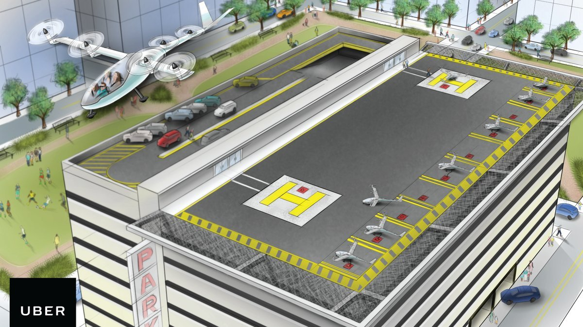 Forget self driving cars, Uber is planning self flying taxis - Luxurylaunches