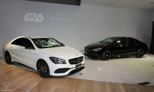 Mercedes celebrates 40 years of The Force with a Star Wars themed CLA : Luxurylaunches