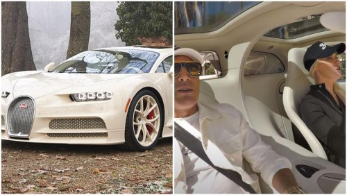 Watch – Supercar Blondie nearly wrecks a $4.25 million bespoke Bugatti Chiron Hermes edition owned by a real estate mogul