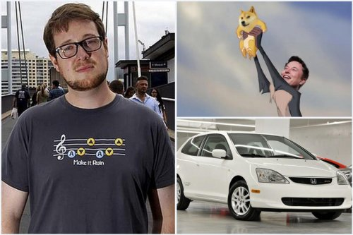 A genius programmer, he created Dogecoin in 2013. Sadly, Billy Markus sold all his coins to buy a used Honda Civic. Then came Elon Musk and Reddit. Now Doge can buy the company Honda two times over.
