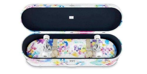 Virgil Abloh has designed a $60,000 skateboard set for Louis Vuitton