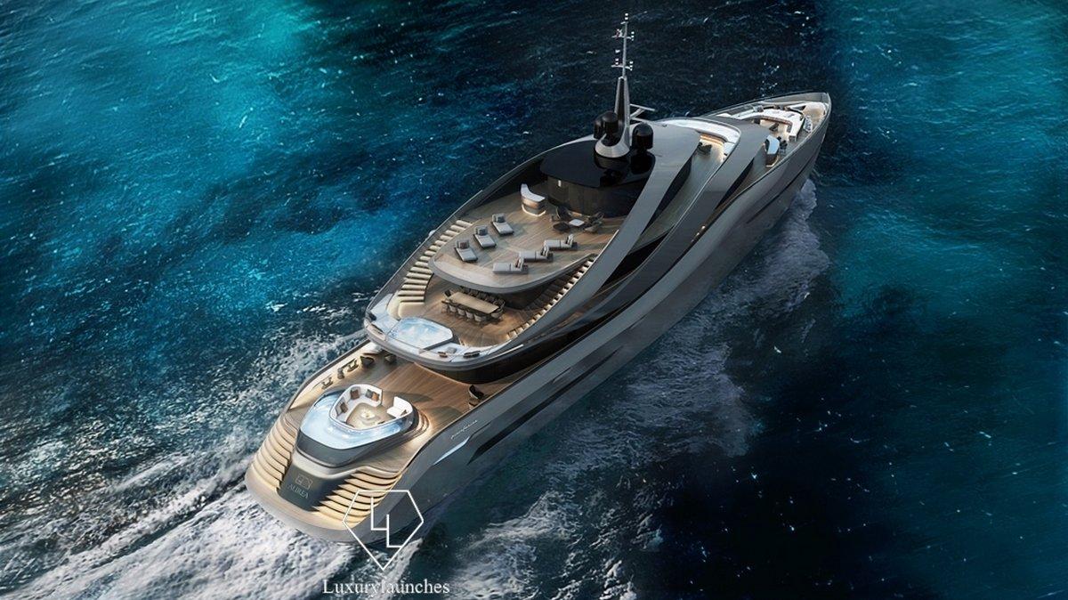 Pininfarina-designed luxury yacht concept 'Aurea' revealed - Luxurylaunches