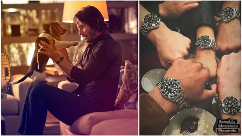 Classy as ever – Keanu Reaves gifted personalized Rolex watches to the entire stunt team of John Wick 4.