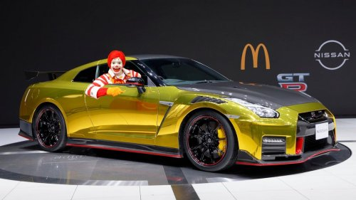 McDonald's Happy Meals to get the 2022 Nissan GT-R NISMO