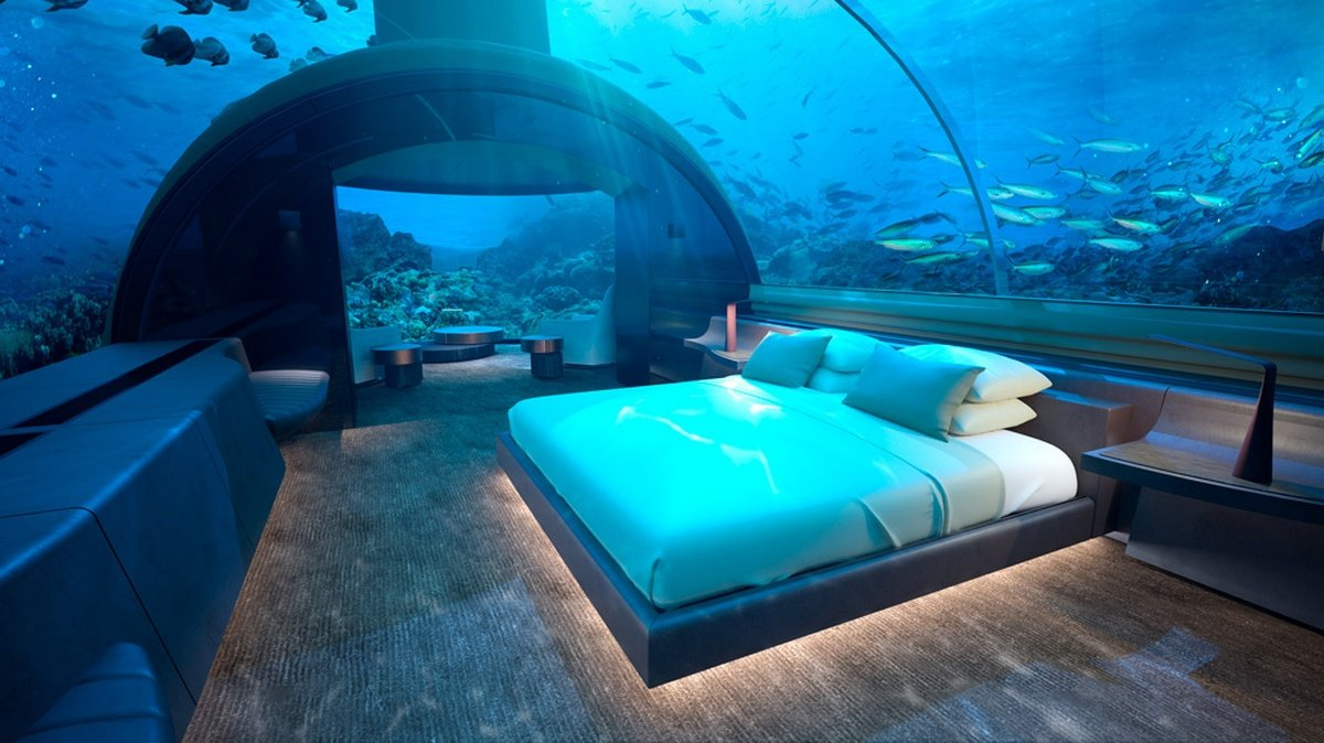 From sunset views to underwater views, the world's first undersea residence promises oceanside luxury like you've never seen - Luxurylaunches