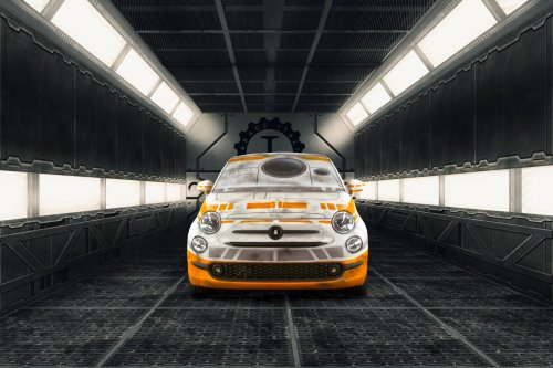 Garage Italia Customs celebrates Star Wars: The Force Awakens with custom Fiat 500 wraps : Luxurylaunches