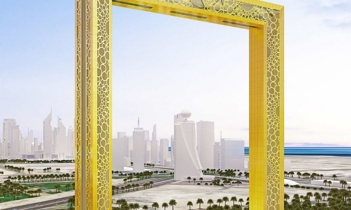 This building in Dubai is the world's largest picture frame tower - Luxurylaunches