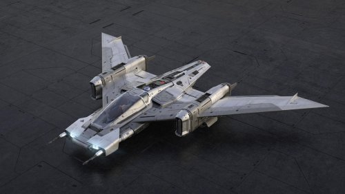 Porsche reveals a starfighter co-developed with Lucasfilm for the Star Wars universe