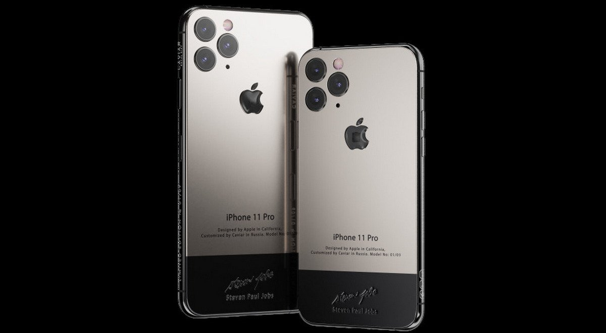 This $6000 customized iPhone 11 comes with a piece of Steve Jobs' iconic turtleneck