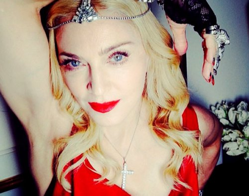 Madonna sparkles in 1000 carats of diamonds in her Oscars after party : Luxurylaunches