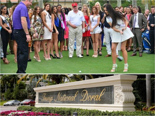 Not in our backyard – Donald Trump's plan to build a massive casino at his golf resort in South Florida's city of Doral were instantly crushed when the city council outrightly banned casinos