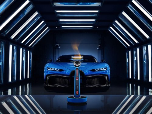 Bugatti goes way mainstream – The maker of $3 million hypercars has partnered with Gillette for a heated razor.
