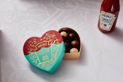 Heinz and Fortnum & Mason team up to create questionable ketchup truffles for Valentine's Day
