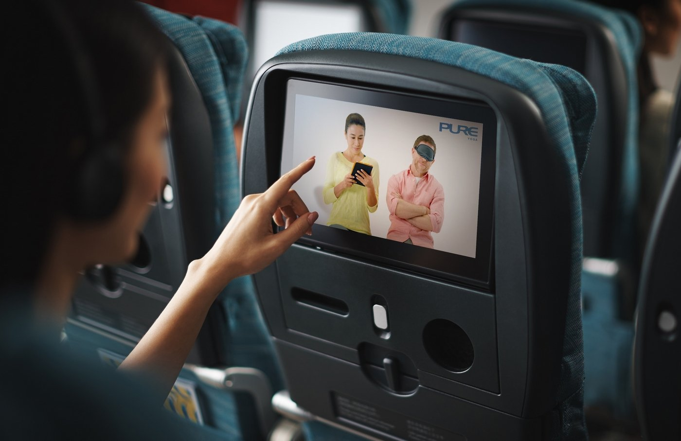 Cathay Pacific lets you de-stress at 35,000 feet with its in-flight yoga programme