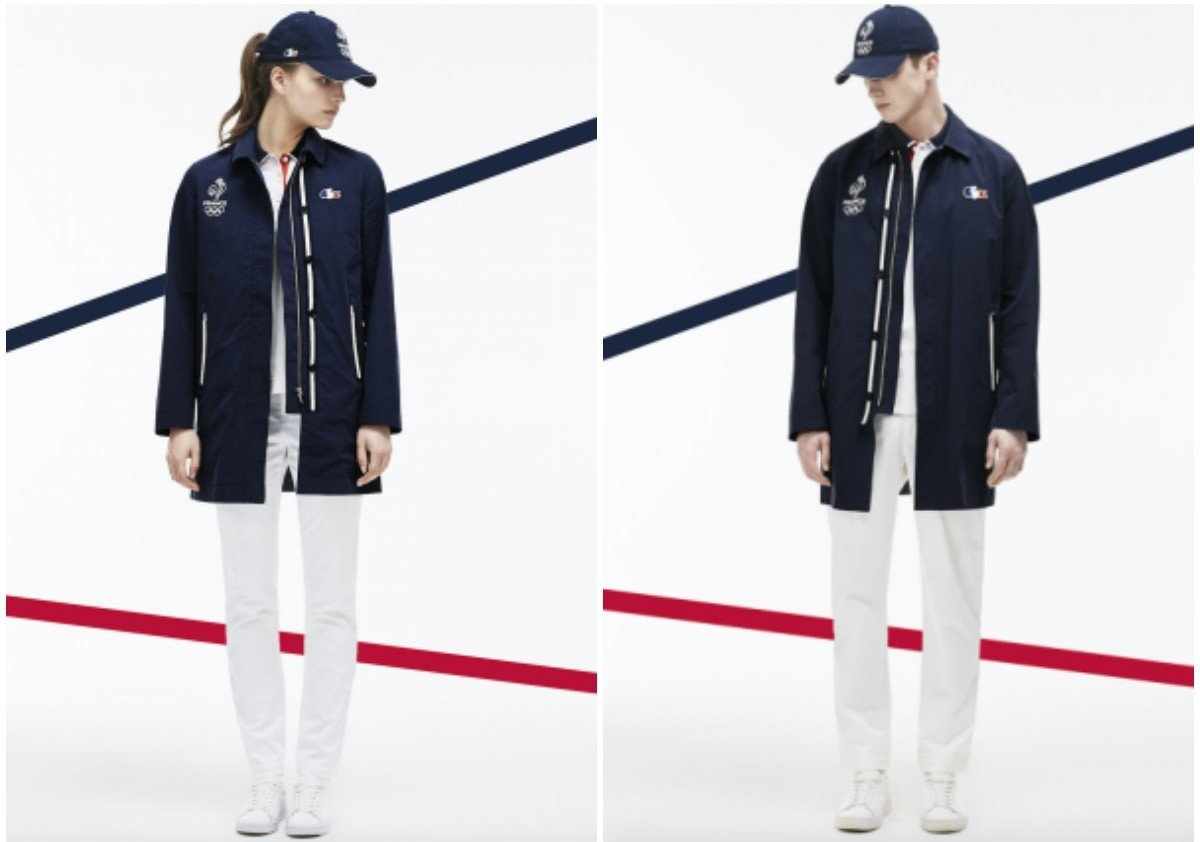 Lacoste unveils the French athletic teams outfits for Rio Olympics - Luxurylaunches