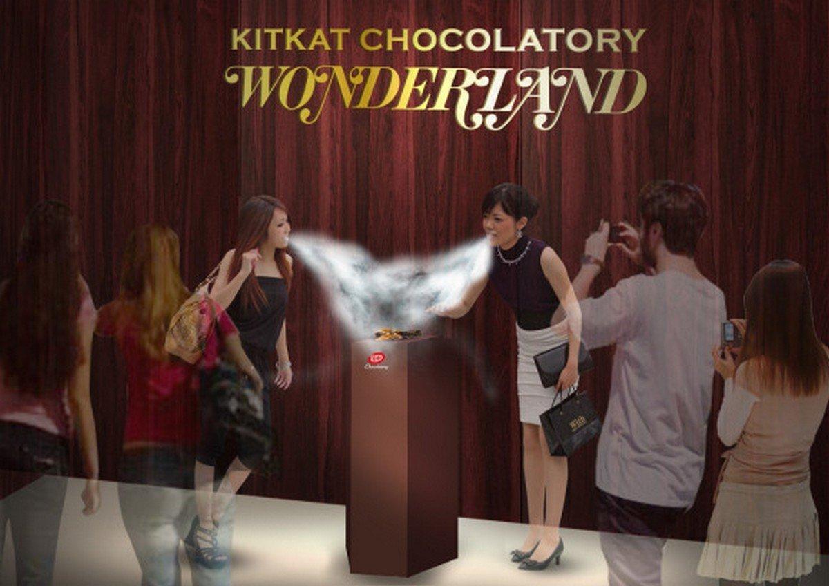 Only in Japan - Liquid nitrogen cooled gourmet Kitkat - Luxurylaunches