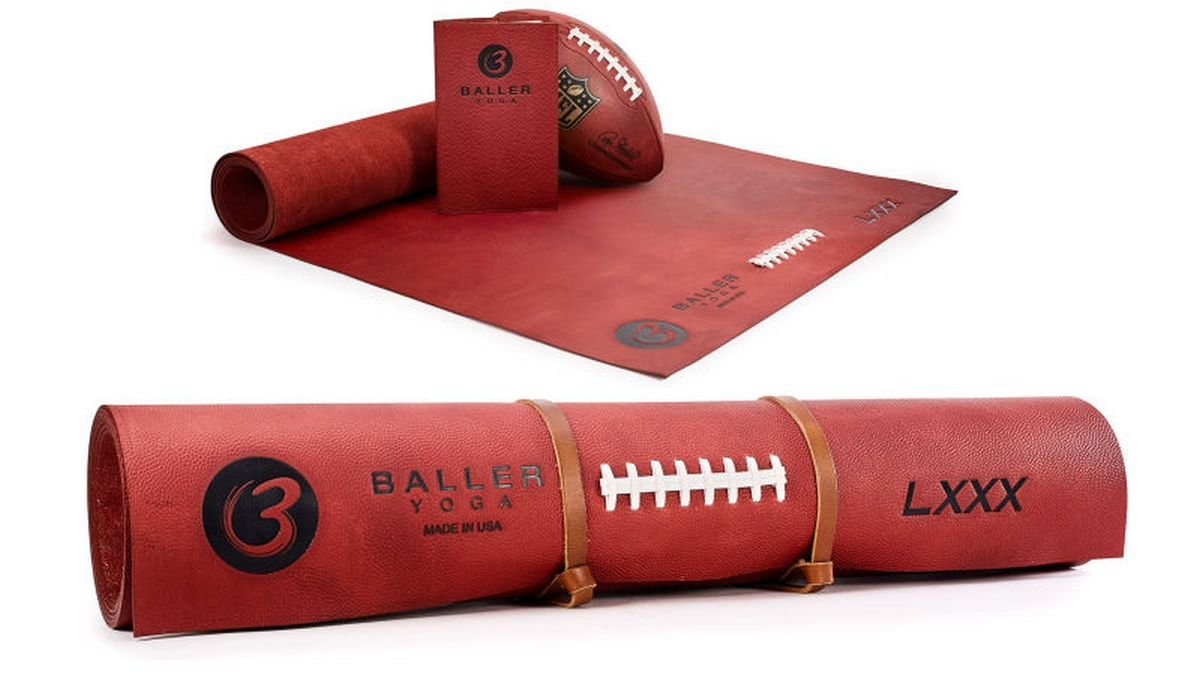 A $1,000 leather yoga mat that lets you stretch without slipping - Luxurylaunches