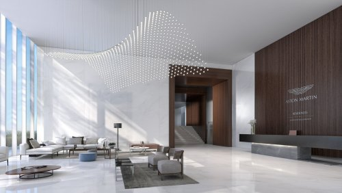 This $50 million penthouse in Miami comes with its own limited edition Aston Martin Vulcan