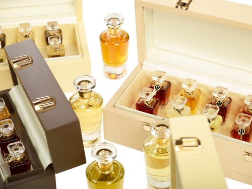 """Have a look at """"Les Boites à Parfums"""", a set of hand-crafted perfume chests by Henry Jacques"""