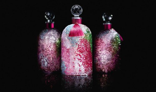 The bottle of this $13,500 Guerlain fragrance is made from recycled Swarovski crystals