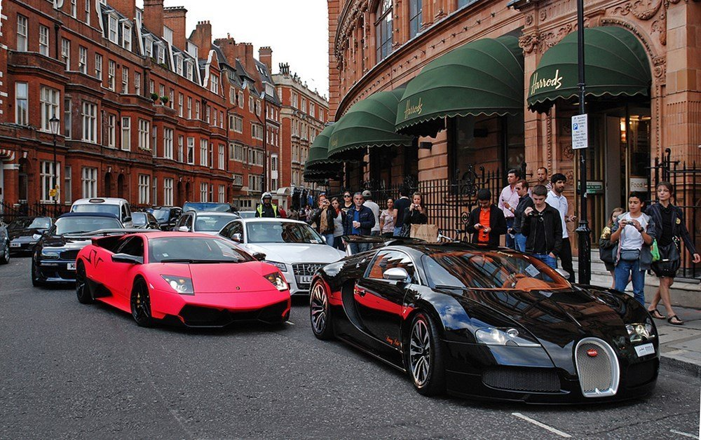 London authorities to fine brash and boisterous supercar drivers with a $1500 fine - Luxurylaunches