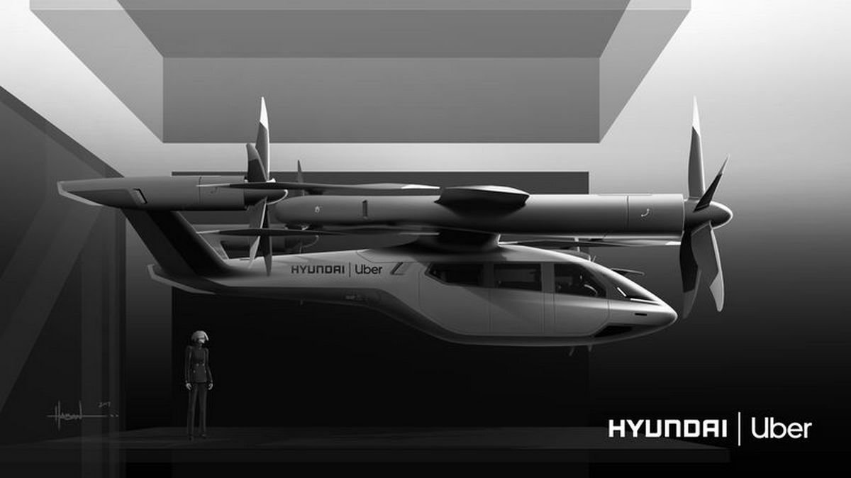 Hyundai is making flying electric cars for Uber and they look stunning
