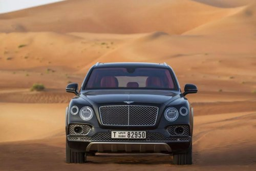 Only in Dubai – You can learn driving in a Bentley Bentayga, G Wagen or a Tesla Model X