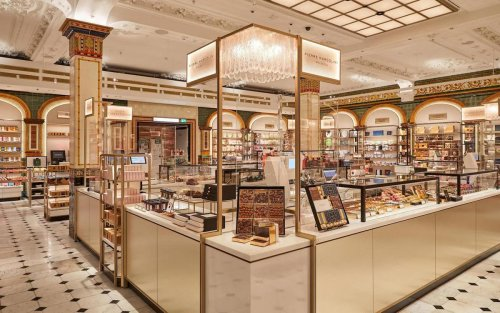 A paradise for chocolate lovers: This full-fledged chocolate hall finds its way at Harrods, London