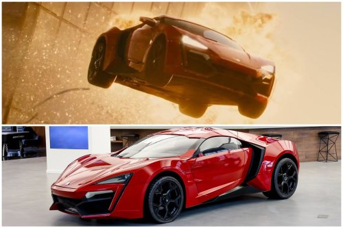 Remember the crazy 'Fast & Furious 7' skyscraper scene? The Lykan Hypersport stunt car used in it is up for auction with a starting price of $100,000. The buyer gets its NFT for free.