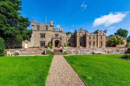 Away from the bustling city life – You can buy this 1,000-year-old castle in the picturesque English countryside for just $4 million.