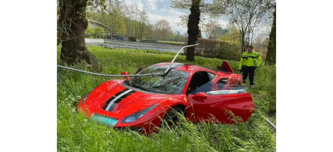 Video of this guy crashing his one day old $330,000 Ferrari Pista is a stark reminder that driving a supercar is not as easy as it looks