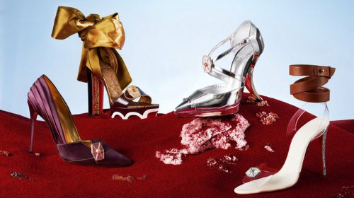 These Star Wars inspired shoes by Christian Louboutin are up for auction : Luxurylaunches